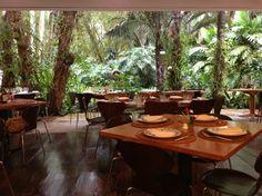 Restaurante em Inhotim, Minas Gerais, Brasil.