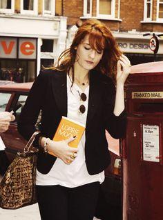 Flo in London.