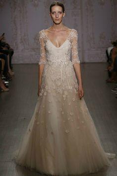 Monique Lhuillier Spring 2015 Bridal