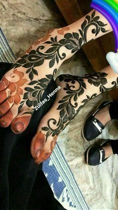 Mehndi Designs Feet, Khafif Mehndi Design, Mehndi Design Pictures, Beautiful Mehndi Design, Henna Tattoo Designs, Mehandi Designs, Latest Arabic Mehndi Designs, Indian Mehndi Designs, Stylish Mehndi Designs