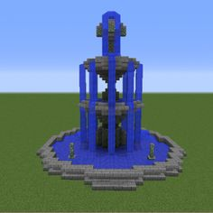 Fountain on 3 levels - GrabCraft - your number one source for MineCraft buildings . - Fountain on 3 levels – GrabCraft – your number one source for MineCraft buildings … – Clair -