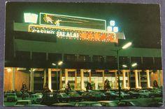 Macau Jai-Alai Stadium Casino Parking Cars Night View Macao China Postcard c019