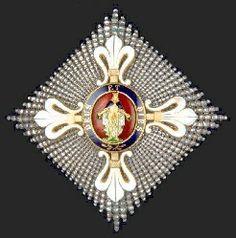 Order of St. Louis for Civil Merit (Real Ordine del Merito sotto il titolo di San Lodovico) - Duchy of Parma-Piacenza