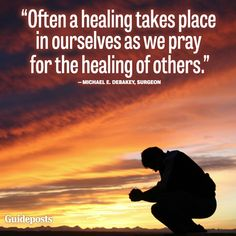 Prayer for Healing Quotes | xxx_debakey_healing.jpg