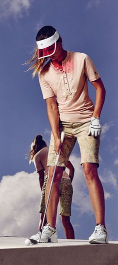 On top of your game, on top of the world: new women's golf apparel from the Bogner Golf Spring/Summer 2016 collection are designed to perform everywhere. Where will you take your game? #ChoosingGolfEquipment