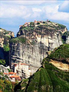 Vision du monastère en rêve -  Météores en Grèce