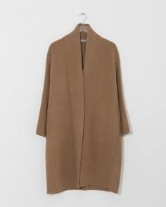 High Collar Coat by Vince