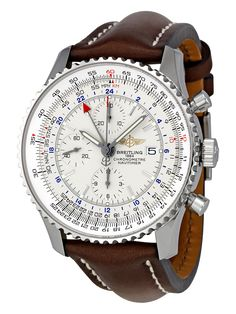 Men's Navitimer World Steel Watch by Breitling at Gilt