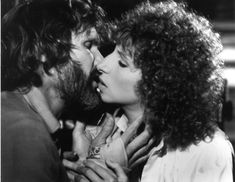 """Kris Kristofferson and Barbra Streisand on the set of """"A Star Is Born"""" 1976 Kris Kristofferson, Barbra Streisand, A Star Is Born, Stars, Couple Photos, Couples, Couple Shots, Sterne, Couple Photography"""