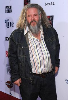 Mark Boone Junior arrives at FX's 'Sons Of Anarchy' premiere