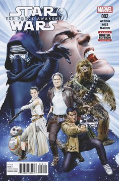 Star Wars: The Force Awakens #2 by Mike Mayhew *