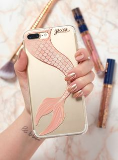 Reasons to be a mermaid: No pants Perfect hair Free clam bra What else? Comment below! Fluffy Phone Cases, Girly Phone Cases, Iphone Cases Disney, Art Phone Cases, Iphone Cases Cute, Iphone 7 Plus Cases, Phone Accesories, Cell Phone Accessories, Diy Phone Case Design