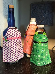 Mini Apron dish detergent apron dish soap apron by VanePinstriping