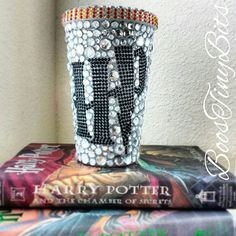 Harry Potter | Bedazzled | Rhinestone Tumbler Cups by BoosTinyBits on Etsy https://www.etsy.com/listing/238510296/harry-potter-bedazzled-rhinestone