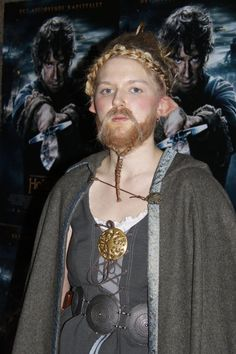 """This is me as Dís, the mother of Fíli and Kíli, and the sister of Thorin. I did this makeup for the last """"Hobbit""""-movie the 10. of december. Hope you like my costyme, and of course, ..."""