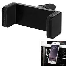 Universal Car Air Vent Mount Phone Holder - Black - Free Shipping - DealExtreme