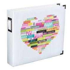 Becky Higgins - Heidi Swapp - Word Heart 12x12 Designer Album
