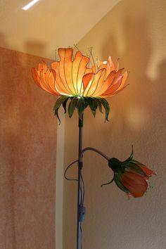 Room Ideas Bedroom, Bedroom Decor, Flower Lamp, Flower Lights, Appartement Design, Diy Décoration, Aesthetic Room Decor, Dream Decor, Dream Rooms