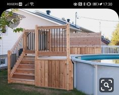 Great Tips For Landscaping Around A Hot Tub – Pool Landscape Ideas Above Ground Pool Landscaping, Above Ground Pool Decks, Backyard Pool Landscaping, In Ground Pools, Backyard Ideas, Pool Deck Plans, Patio Plans, Swimming Pool Decks, My Pool