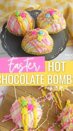 Easter Snacks, Easter Dinner Recipes, Easter Brunch, Easter Treats, Easter Desserts, Easter Food, Brunch Recipes, Yummy Recipes, Chocolate Bomb