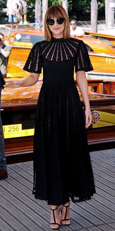 Dakota Johnson arriving for the Black Mass press conference in Venice - 4 Sep 2015