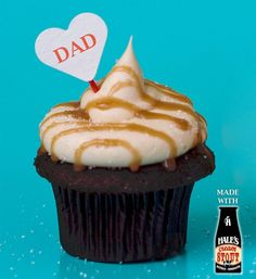 Hale's Chocolate Stout with Stout Caramel Buttercream!