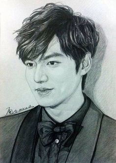 drawings inspired by 2013 SBS Drama Awards Jung So Min, Boys Over Flowers, Korean Art, Korean Drama, Korean Celebrities, Korean Actors, Lee Min Ho Kiss, Lee Min Ho Dramas, Lee Min Ho Photos