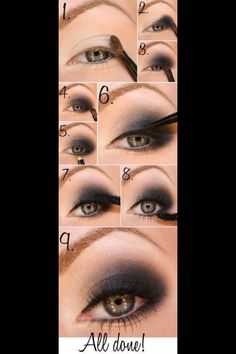 Smokey eyes Eyeshadow Eye make up
