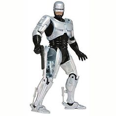 """Robocop Warrior 7"""" Action Figure Body with Spring Loaded Holster Model Toys Best Kids Gifts Collections"""