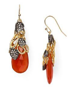Alexis Bittar Siyabona Sunset Gold Carnelian Petal Cap Earrings - New Arrivals - Jewelry - Jewelry & Accessories - Bloomingdale's