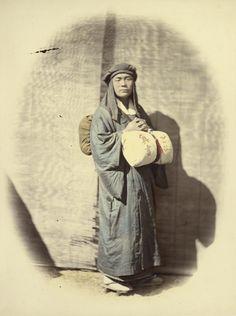 Felice Beato (1832-1909) Priest Traveling 1866-1867