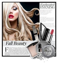"""""""Beautiful Autumn"""" by tinayar ❤ liked on Polyvore featuring beauty, MAKE UP FOR EVER, Marc Jacobs, Burberry and Stila"""