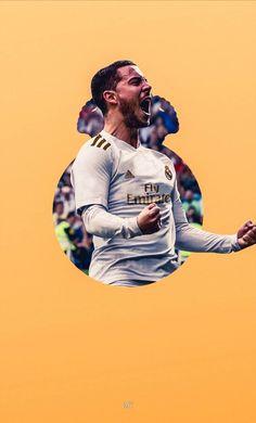 Hazard Real Madrid, Barcelona Football, Eden Hazard, Sports Wallpapers, Football Players, Soccer, Idol, Batman, Passion