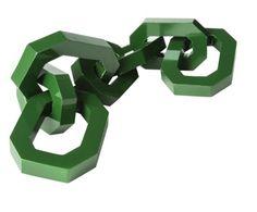 "Nate Berkus for Target   fall 2012  Oversized Chain Link 16"" Green"