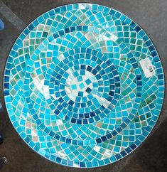 Mosaic Garden Table. Great for outdoor entertaining! $69.99