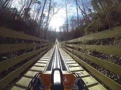 ▶ Smoky Mountain Alpine Coaster ROLLER COASTER POV Pigeon Forge Tennessee - YouTube