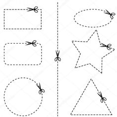 Free coloring pages of cutting practice 2d Shapes Activities, Cutting Activities, Toddler Learning Activities, Preschool Cutting Practice, Family Fun Games, Autism Classroom, Learn Art, Preschool Worksheets, Homeschool Curriculum