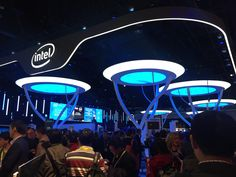 The most eye-catching booth at #CES2015 goes to the Intel booth! Congrats Intel for an amazing booth. Plan for #CES2016 on January 6-9, 2016 in Las Vegas.