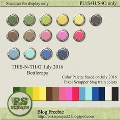 THIS & THAT: SUMMER FUN - personal freebie collection for July 2016.  Collect at my blog http://pokisproject2.blogspot.com