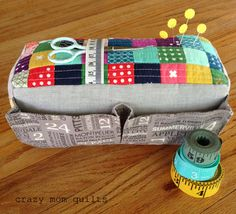 the carry-all pin cushion | crazy mom quilts | Bloglovin