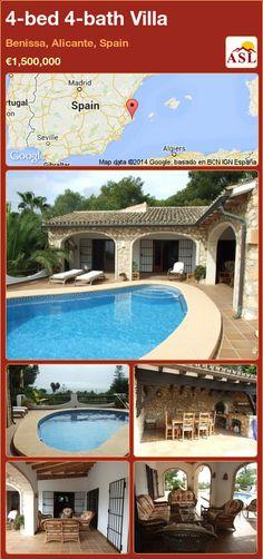 4-bed 4-bath Villa in Benissa, Alicante, Spain ►€1,500,000 #PropertyForSaleInSpain