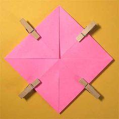 折り紙でハート窓の折り方!簡単バレンタインメッセージの作り方 | セツの折り紙処 Crafts, Manualidades, Handmade Crafts, Craft, Arts And Crafts, Artesanato, Handicraft