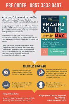 Pre Order buku Amazing Slide MiniMAX, sampai dengan 30 Sept 2015.