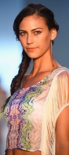 Fishtail Side Braids at Belusso Mercedes-Benz Fashion Week FW SS15
