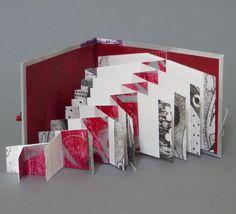 Earlier Work – Annwyn Dean books pop up Concertina Book, Accordion Book, Kirigami, Pop Up, Altered Book Art, Book Sculpture, Book Folding, Book Projects, Handmade Books