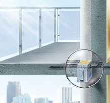 A balcony is basically a heat exchange fin with a view.  Schoeck Isokorb - eliminates thermal bridges on concrete balconies.