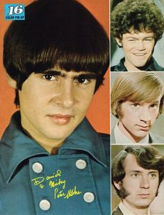 Monkees, old soul that I have. I'm actually great foul I got to see them live.