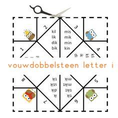 Vouwdobbelsteen letter i