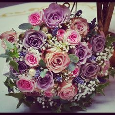 A gorgeous Vintage bouquet we made.