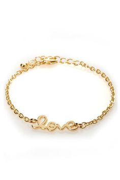 Heart on a String Love Bracelet